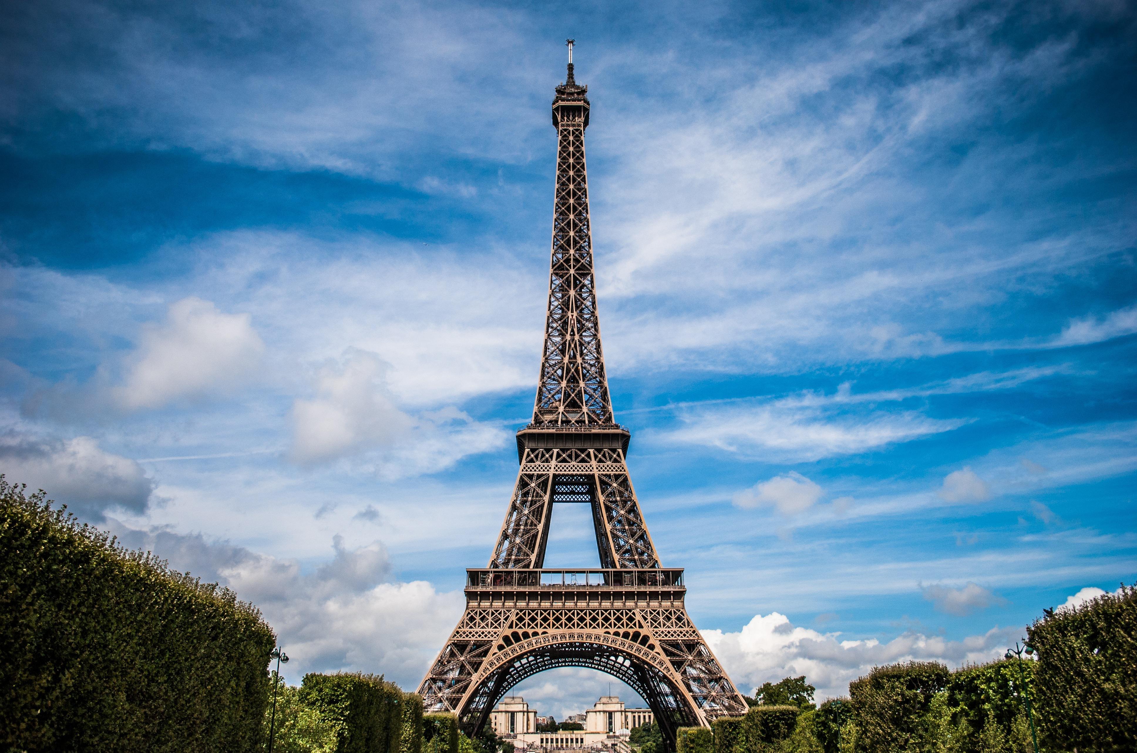 法国巴黎铁塔戒指